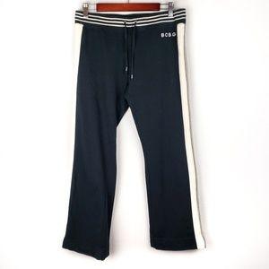 Bcbgmaxazria black sweatpants sz L